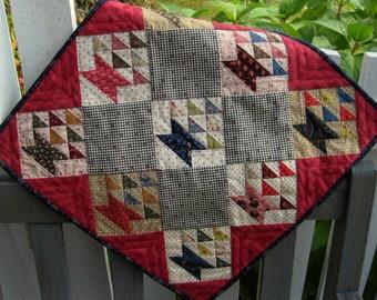 Doll Quilt Pattern - Basket Quilt
