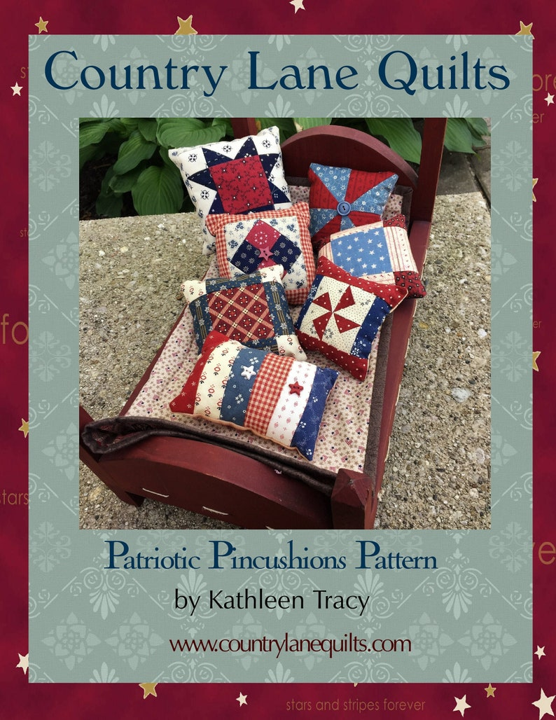 Patriotic Pincushions Pattern image 0
