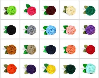 Rose Dog Collar Flower, Girl Dog Collar Flower, Special Occasion, Wedding Dog Flower, Dog Collar Flower, Ready to Ship, Cat Flower, Stocking