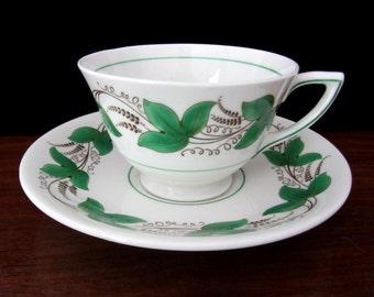 Royal Doulton Bone China Castleford Tea Cup And Saucer Set