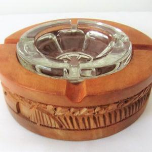 1975 Vintage Shriner Ceramic Round Ashtray