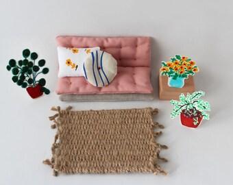 Living room- pink