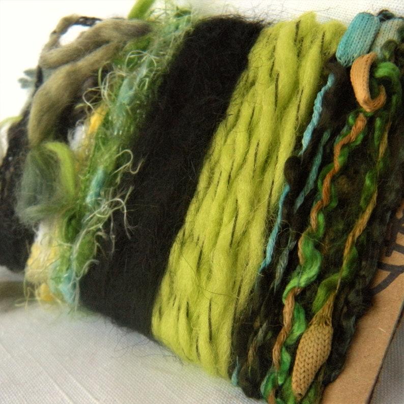 Fiber Trim Supplies Lime Green Black 4134