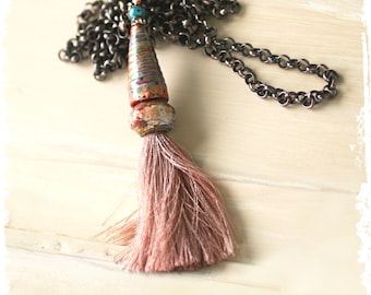 Necklaces with Tassels