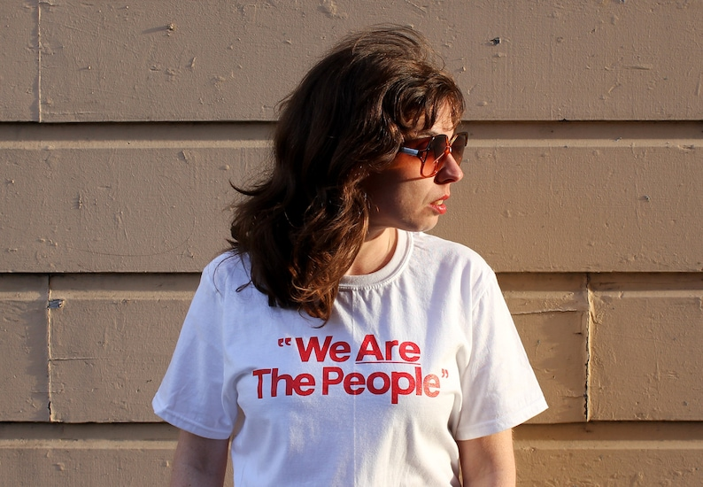 We are the People T-Shirt from the film Taxi Driver. tell me image 0