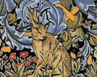 The Hare by William Morris DMC V /& A Museum Collection Tapestry Kit C120K//77