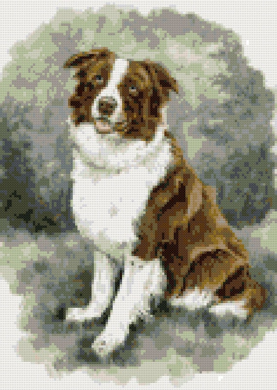 Counted Cross Stitch Kit English Shepherd