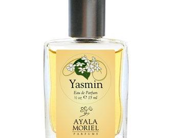 Yasmin - Jasmine soliflore, the joy of jasmine on sensual skin, jasmine absolute, jasmine sambac, amber, sandalwood, Botanical perfume