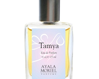 Tamya - the most dreamy Fruity Floral Natural Perfume with plumeria, white musk, sandalwood and yuzu. Perfect gift for the young at heart