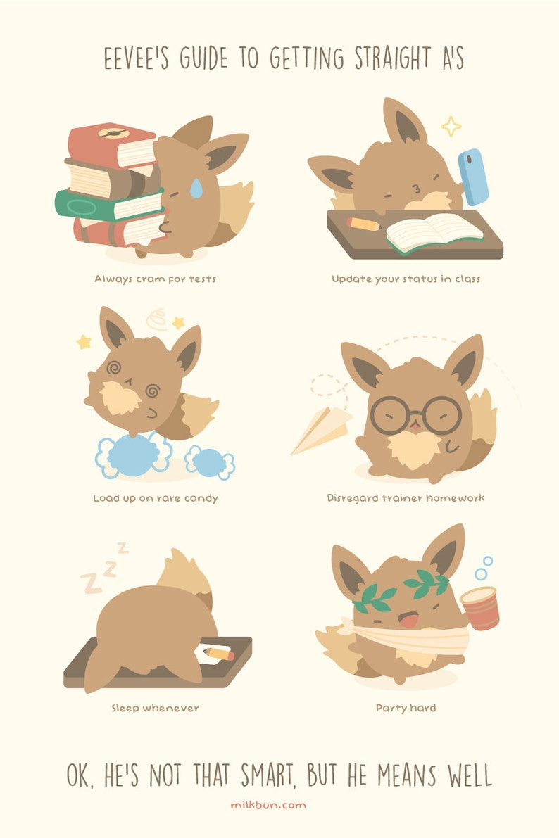 MINI Eevee's Guide to Getting Straight A's image 0