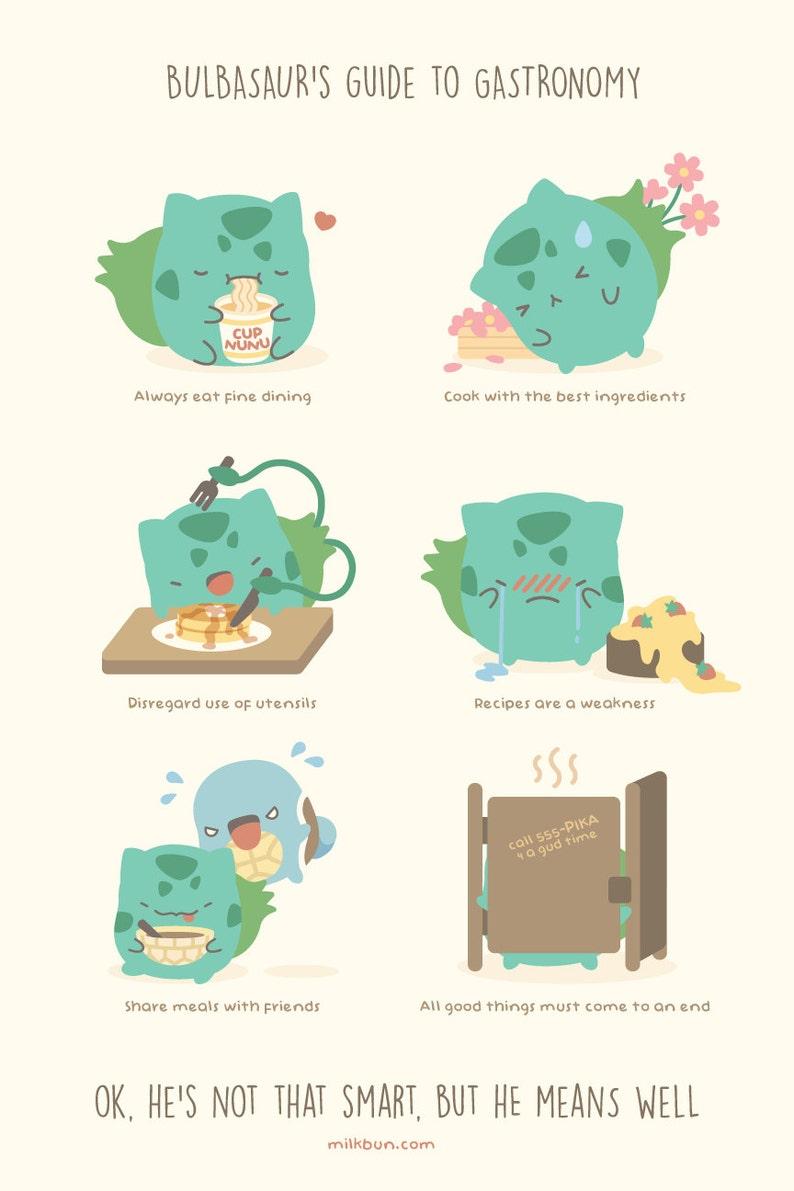 MINI Bulbasaur's Guide to Gastronomy image 0