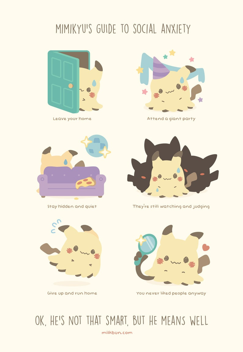 MINI Mimikyu's Guide to Social Anxiety image 0