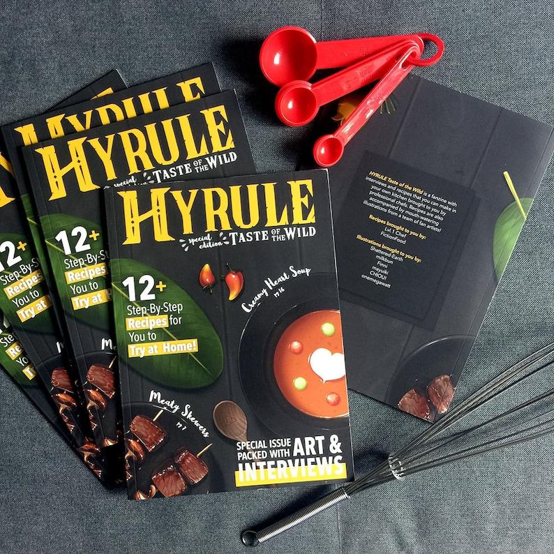 HYRULE Taste of the Wild: BOTW cooking fanzine image 0