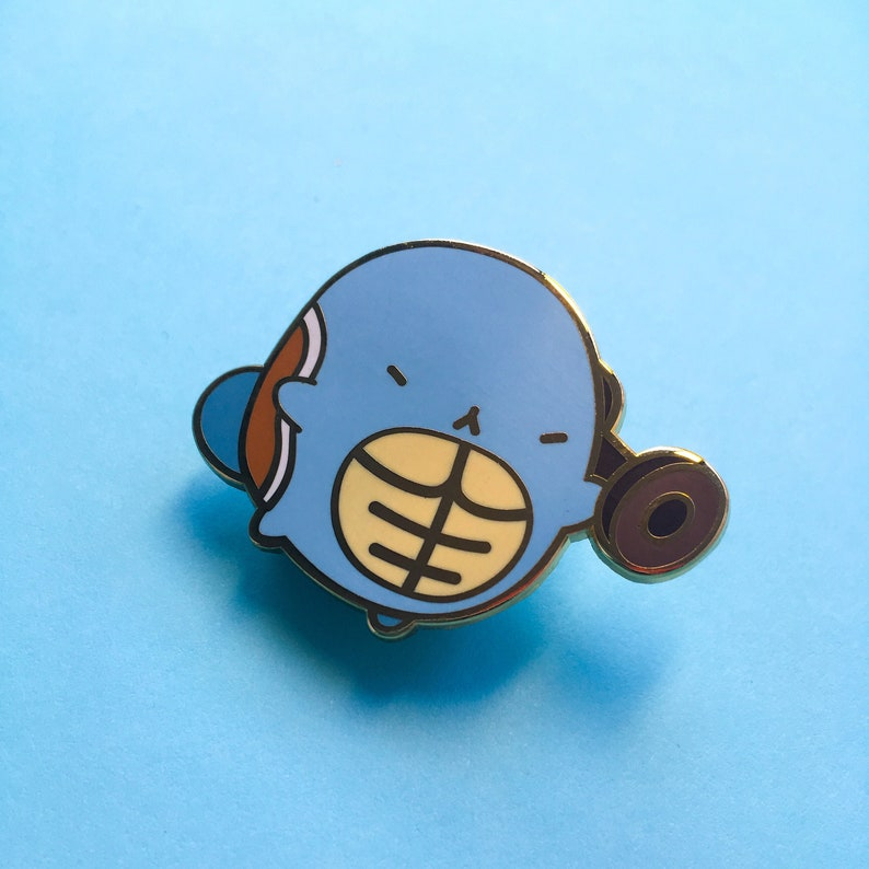 Squirtle Pokebean Pin image 0