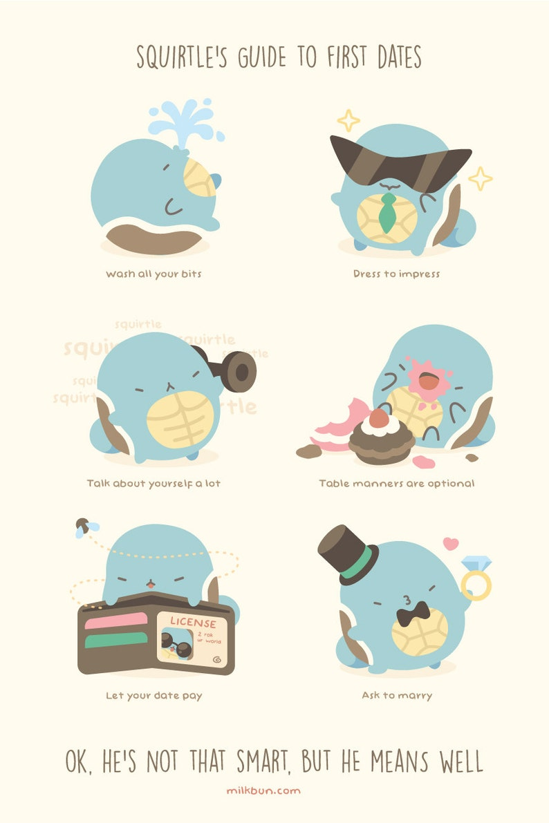 MINI Squirtle's Guide to First Dates image 0
