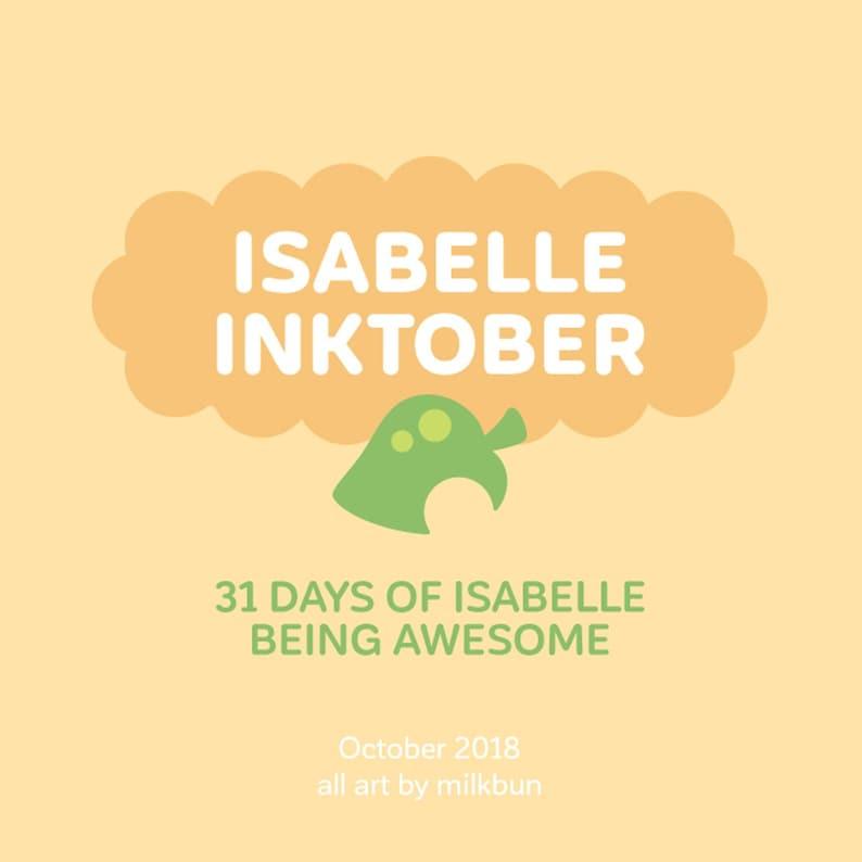 Isabelle Inktober Book PDF DOWNLOADABLE image 0