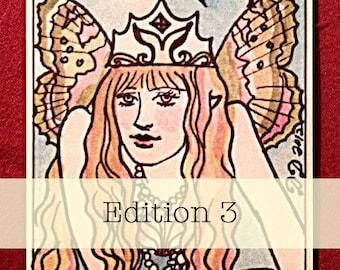 Dame Darcy Mermaid Tarot Edition 3, Tarot Decks,  Oracle, Fortune telling, Witch, Halloween, Divination, Cartomancy