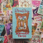 Mermaid Tarot Gold Edition with Box, Dame Darcy, Tarot Decks, Oracle, Fortune telling, Witch, Halloween, Divination, Cartomancy, Tarot