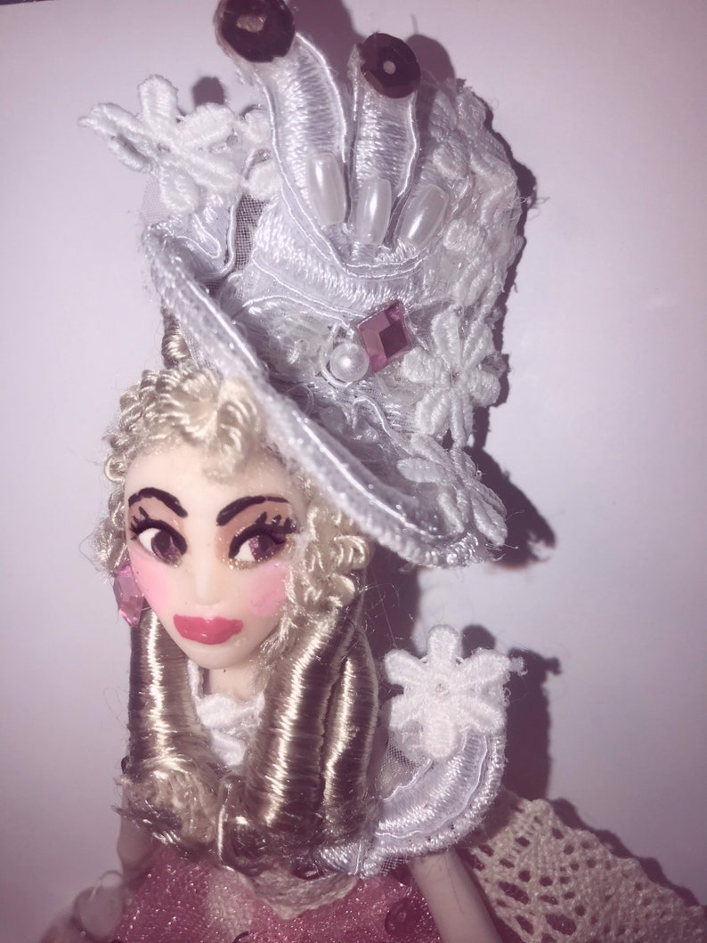 Madame Marceau  Doll  Doll House Doll  Miniatures  French image 0