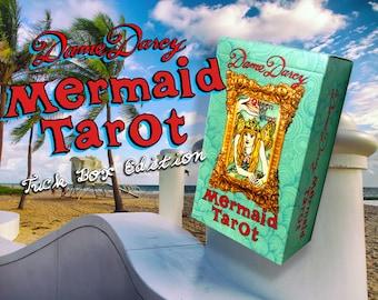 Mermaid Tarot | Tuck Box Edition | Dame Darcy | Tarot l Mermaid | Witch | Oracle | Reading | Tarot Deck | Deck | Divination | Mermaid Oracle