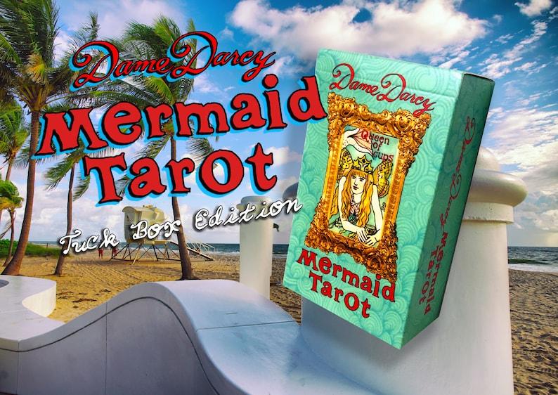 Mermaid Tarot  Tuck Box Edition  Dame Darcy  Tarot l image 0