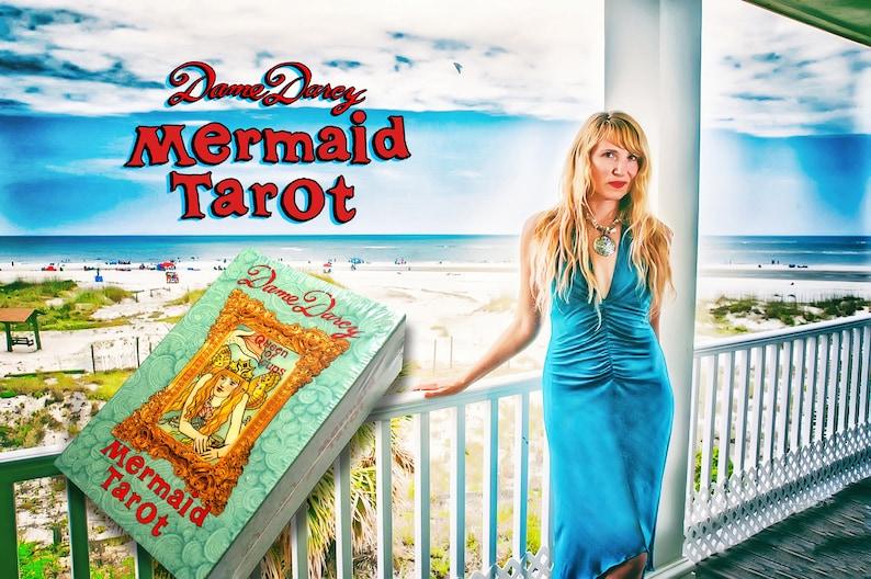 Mermaid Tarot  Gold Edge Edition  Dame Darcy  Tarot l image 0