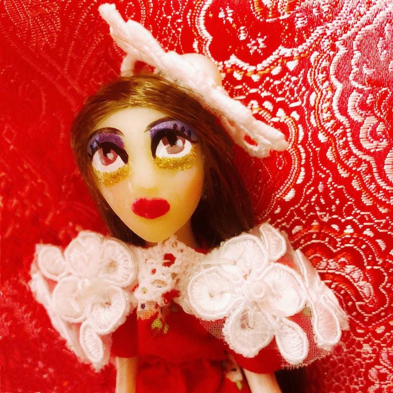 Art Doll  Princess Penelope  Rococo Fashion  Doll House  image 0