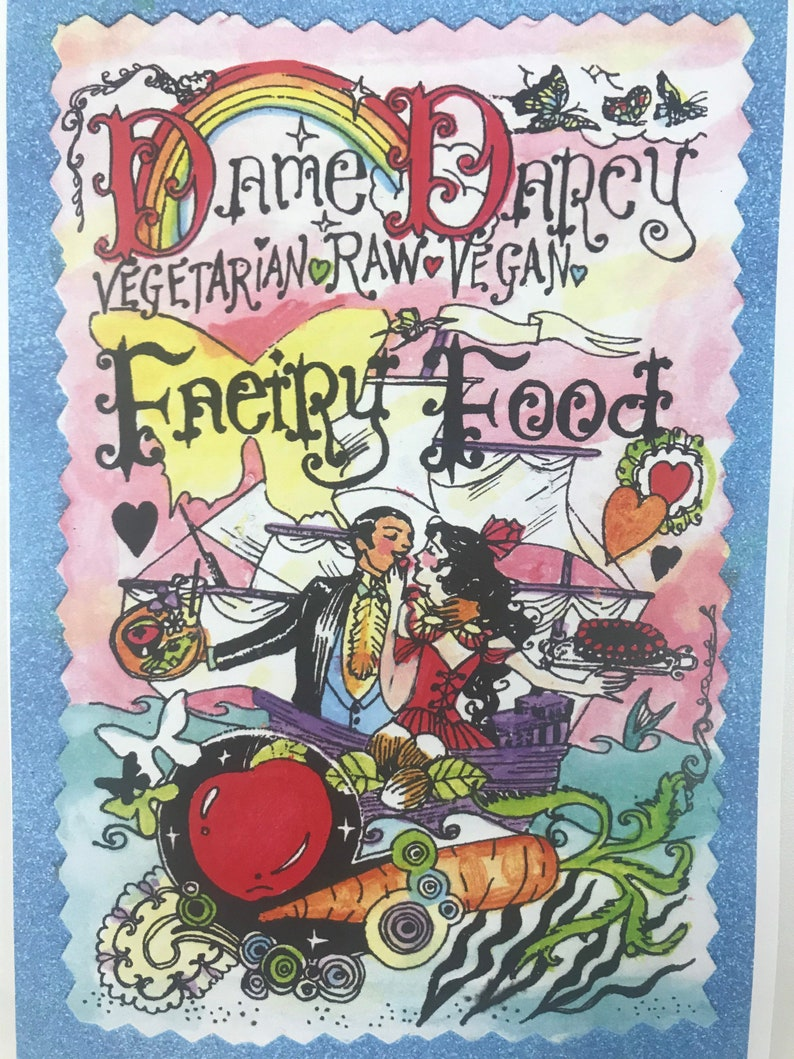 Cookbook  Vegetarian  Dame Darcy  Faeiry Food  Fairy  image 0