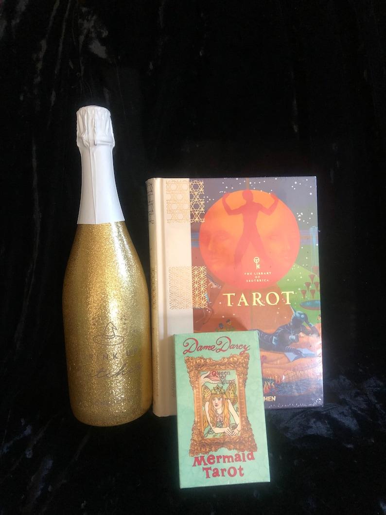Mermaid Tarot  Gold Edition  Tarot  Book  Library Of image 0