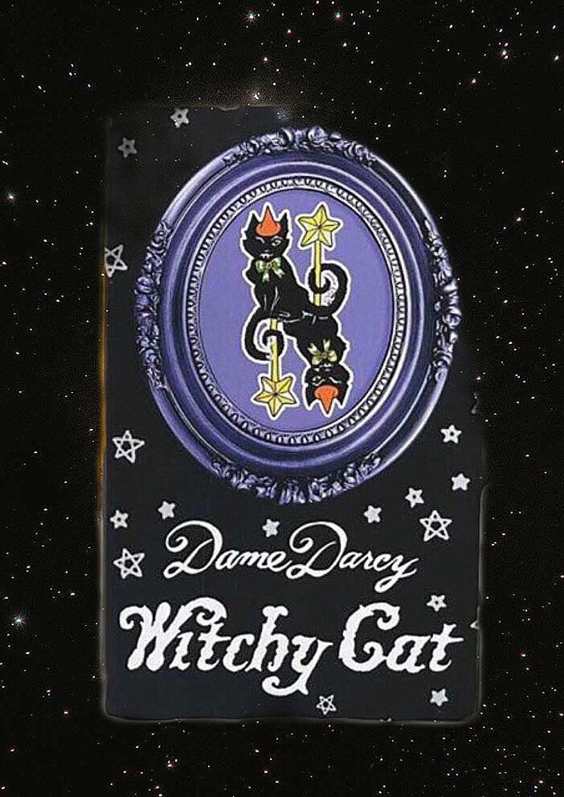 Witchy Cat  Dame Darcy  Tarot  Tuck Box  Cat Tarot  Tarot image 0