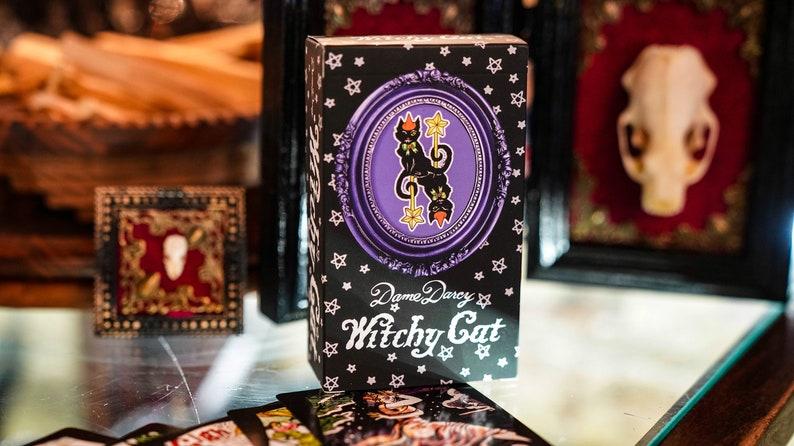 Witchy Cat  Tuck Box  Dame Darcy  Tarot  Cat Tarot  Tarot image 0