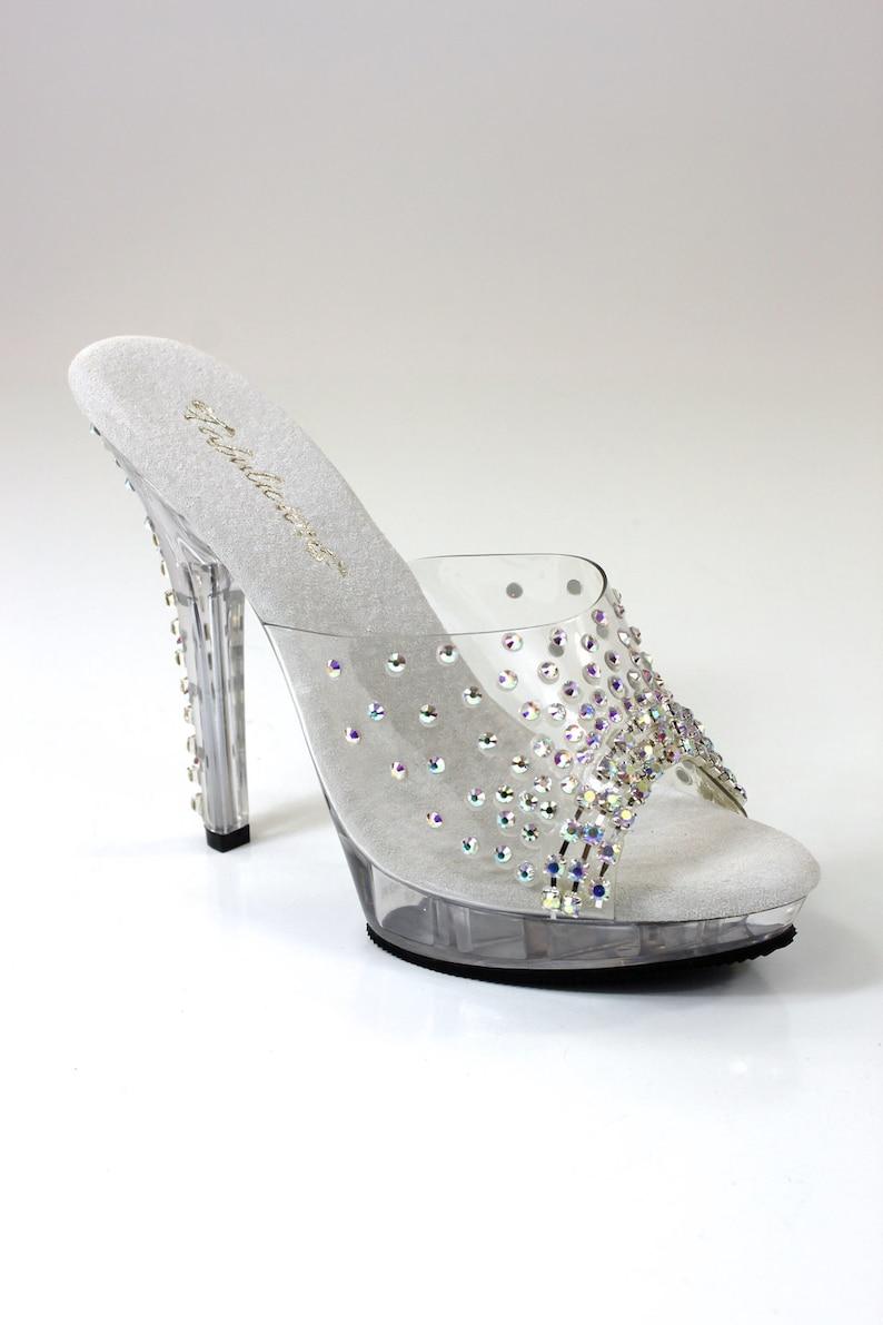 96b4089dc Crystal AB Rhinestone Shoes   Bikini figure Competition Shoes