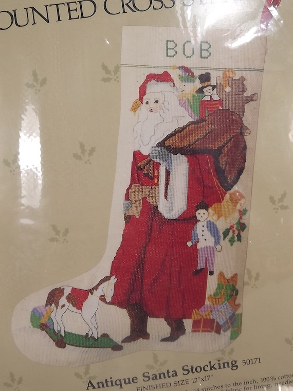 Candamar Something Special Cross Stitch Christmas Stocking Kits Various Designs