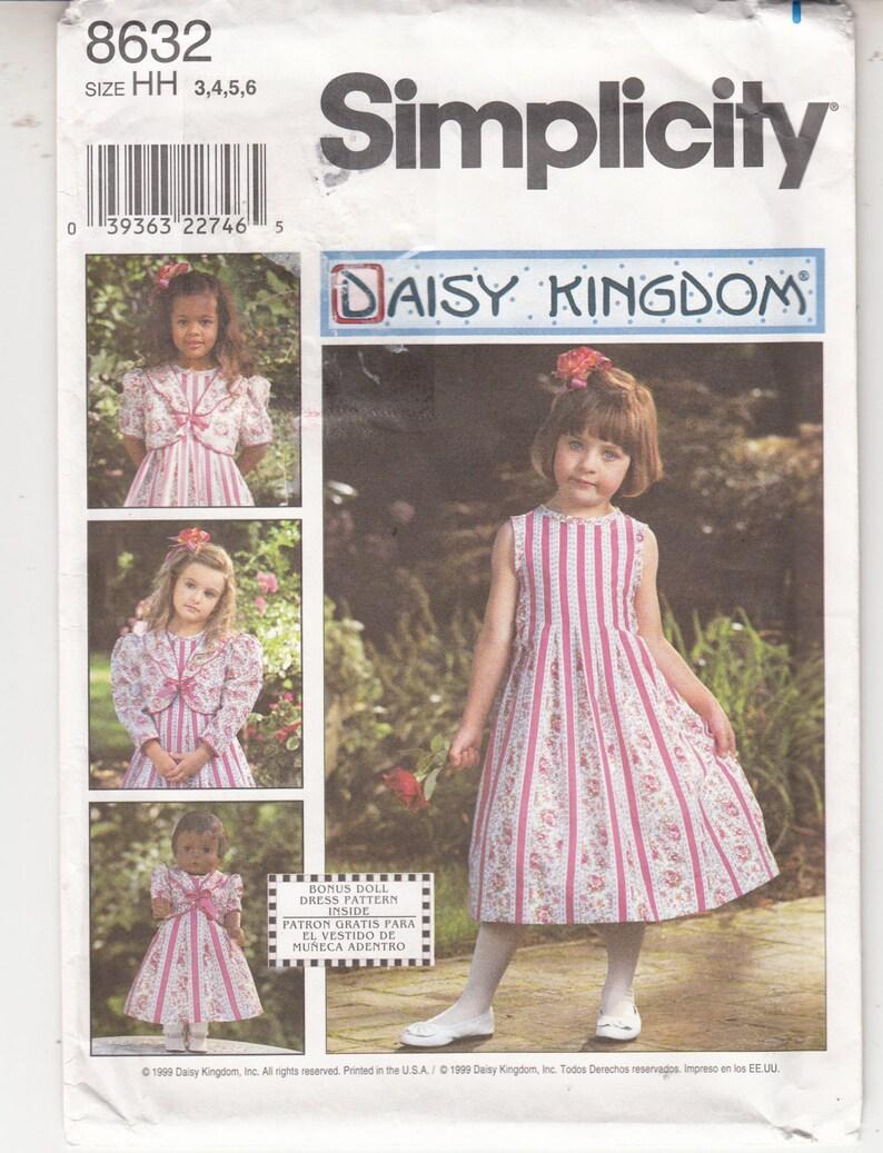 a7a2188d8 Margarita Unido niñas vestido chaqueta simplicidad costura | Etsy