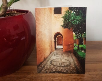 Art Print Greetings Card