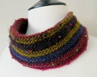 Crystal Cowl Knitting Pattern