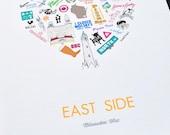 East Side Print (Milwaukee, WI Neighborhood)