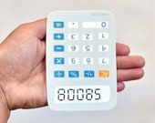 BOOBS calculator sticker