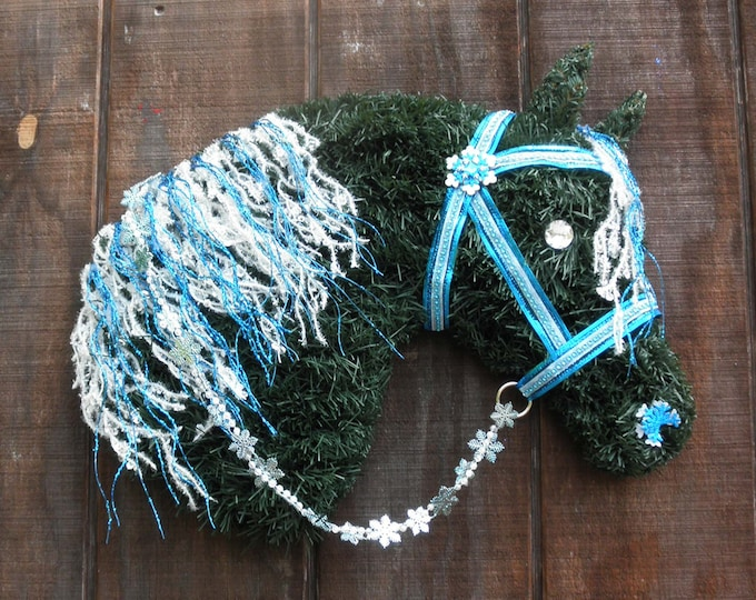 Horse Head Christmas Wreath Rollback Pricing