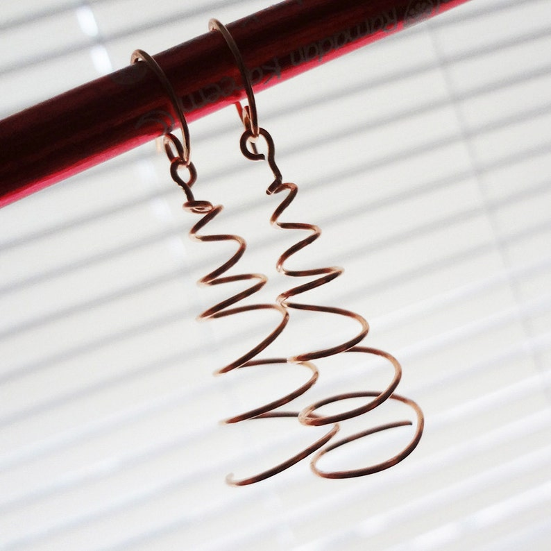 TUTORIAL Twirl Earrings Jewelry Making TUTORIAL image 0