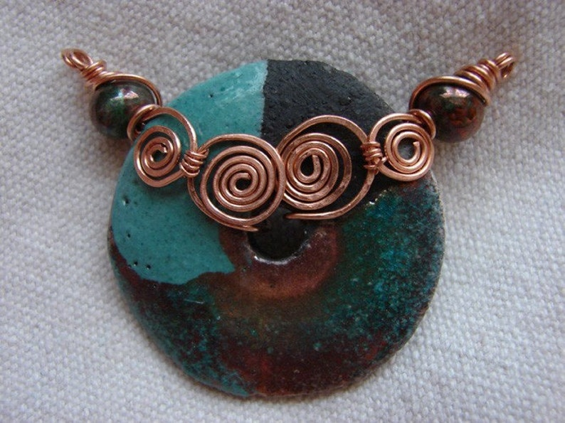 TUTORIAL  Coiled Donut Centerpiece TUTORIAL image 0