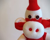 Julian. A toe sock monkey looking for love.
