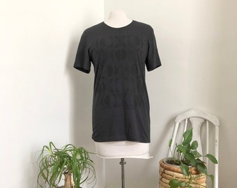 KC Geometric T-shirt, Black print/Gray shirt, Kansas City