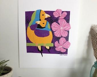 Gouldian Finch 11x14 Digital Print