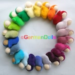 custom made, Waldorf dolls, germandolls small Pocket Baby, Steiner toy, handmade mini toy, pocket size