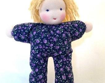 Waldorf dolls // blonde 12 inch doll // Ava - Cuddle Baby// Steiner Doll // handmade soft doll // gift for girl