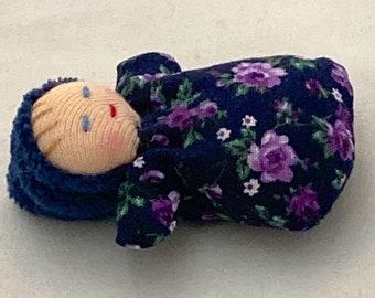 Bonbon Tiny Baby -  Pocket Doll made Waldorf Tradition