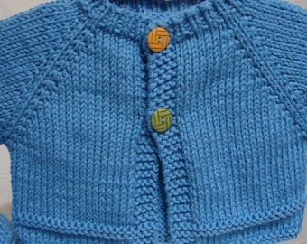 Pattern Teeny Tiny, Baby Sweater and Hat Pattern