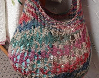 Pattern for Cotton Shopping Bag Tote