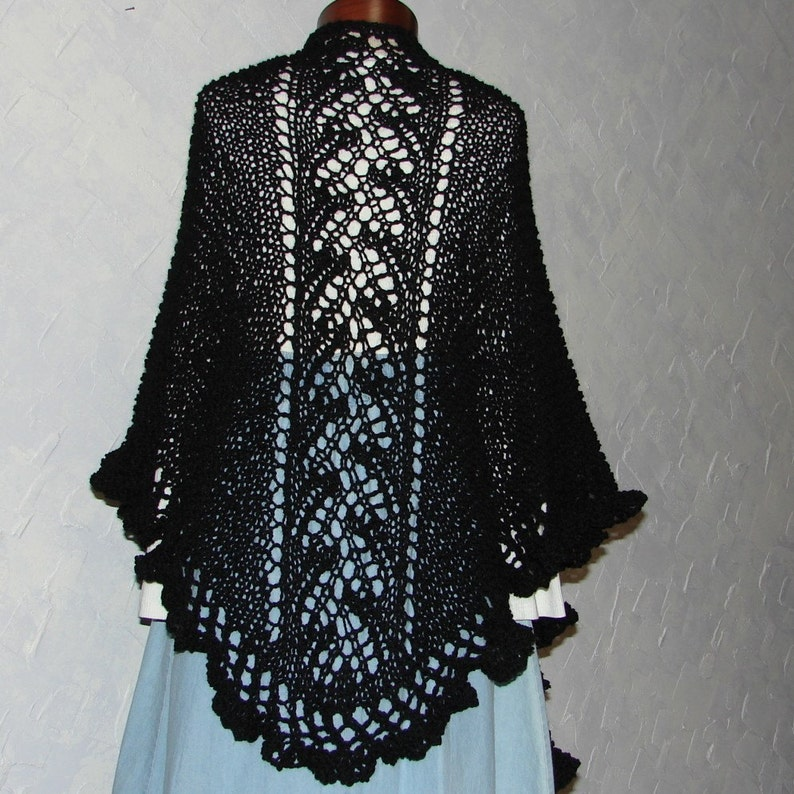 7dbe5bbb0f8e Pattern for Hand knit Lace shawl named Anna s Shawl